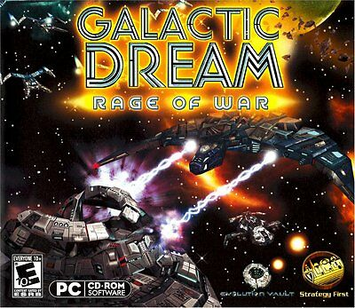 Video Game Galactic Dream: Rage of War PC, 2008 win XP Vista and 7 strategy New