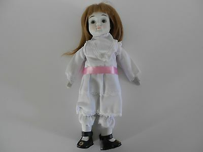 "Collector's Doll, Designer Collection, Porcelain Bisque, Happyland 3, 14"" Tall"