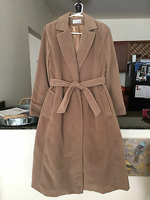 Lorendale by Bromleigh Women's Cashmere Long Coat Nobbson Ft Wayne Camel Color