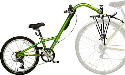 Burley Piccolo 7-Speed Trailercycle: Green