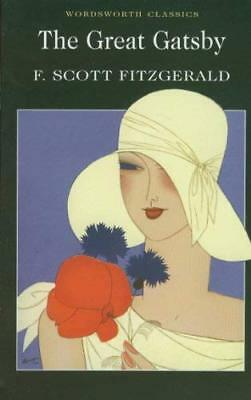 The Great Gatsby (Wordsworth Classics) by F. Scott Fitzgerald New Paperback Book
