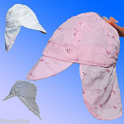 Baby Boys Girls Sun Protection legionnaires Hat Neck Flap