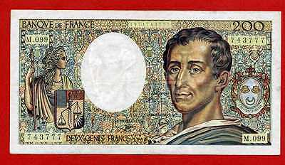 (M 099) 200 Francs Montesquieu 1990 (Sup-)