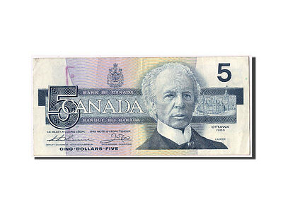 [#305894] Canada, 5 Dollars type Laurier, Pick 95b