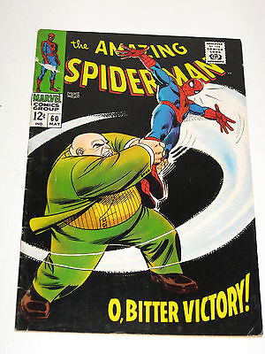 The Amazing Spider-Man #60 (May 1968, Marvel) - VG/Fine Condition