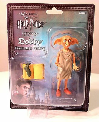Wizarding World Of Harry Potter DOBBY Dobbie THE HOUSE ELF ACTION FIGURE w/ sock
