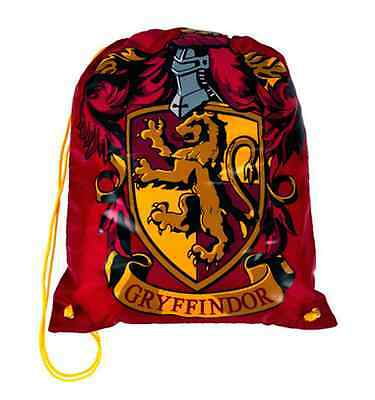 Wizarding World Of Harry Potter GRYFFINDOR Drawstring BACKPACK BAG New UNIVERSAL