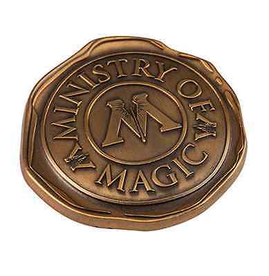 Wizarding World Of Harry Potter MINISTRY OF MAGIC WAX SEAL Trading Pin BADGE