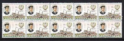 (E177 A) MOZAMBIQUE STAMPS - Sg.593 - BLOCK x 10 - FROM 1967