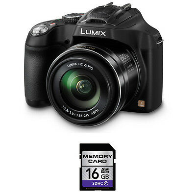 Panasonic Lumix DMC-FZ70 Digital Camera w/16GB SDHC Card