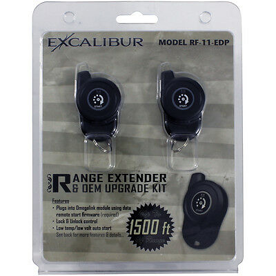 Excalibur RF11EDP Rf Kit 1-Way/1-Button Kit For Omegalink Rs Firmwares 2-Remotes
