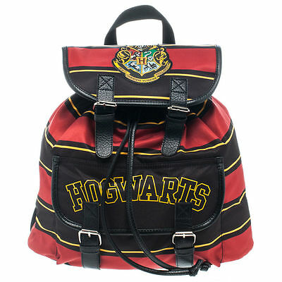 Harry Potter Hogwarts Crest Official Wizard School Slouch Book Bag Backpack Tote