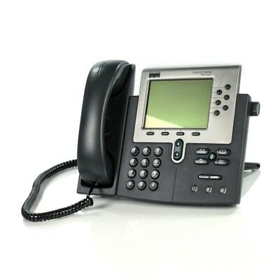 Cisco 7960 IP Phone CP-7960G VoIP Phone and Handset Office Business Telephone