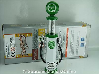 Quaker State Petrol Gas Pump Model 1/18 Scale Visible Grn/white Example T314Z(=)