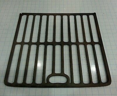 """Vintage Cast Iron Wood Burning Gas Pot Belly Stove Oven Rack - 16 3/4"""" x 17 3/4"""""""