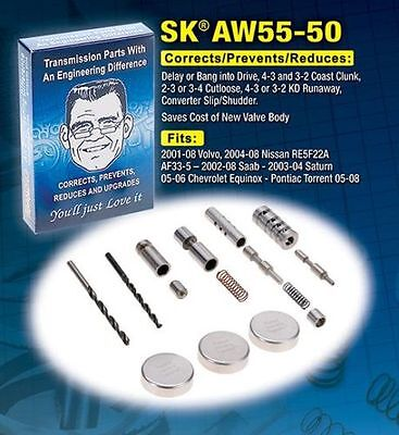 AW55-50SN SHIFT KIT TRANSGO RE5F22A 55-50 AF33-5 Solenoid Volvo (SK55-50)*