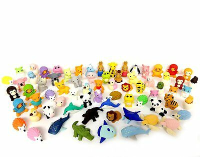 30 Assorted Iwako Eraser - Animal Collection (30 items will be randomly selected