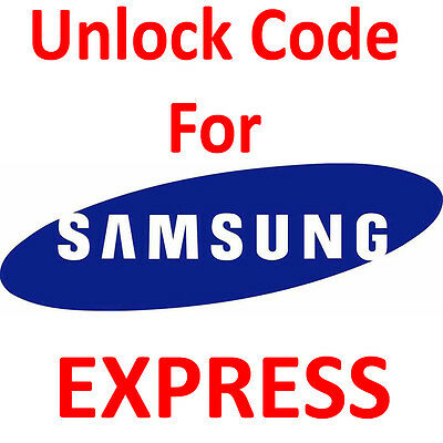 Unlock Code for AT&T Samsung Galaxy S5 S4 S3 S2 Note 3 2 1 Mega, Mini etc