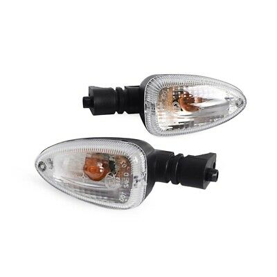 2 X Motorcycle Clear Turn Signal Light Indicator For BMW F800ST R1200GS F650GS