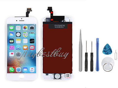 Front Panel LCD Display Glass Touch Screen Digitizer Assembly for iPhone 6 4.7'
