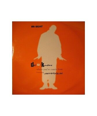 "[N1177] M-Beat Featuring Jamiroquai ""Do U Know (Where You're Comin From)""  - 12"""