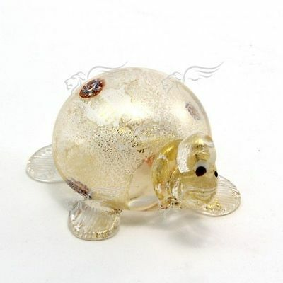 Sculpture Collection Turtle Murano Glass Made in Italy