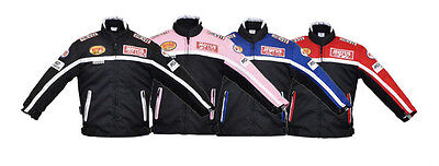 Kid's Textile Motorbike Motorcycle Motocross Jacket Children's Clothing