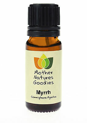 100% Pure Myrrh Essential Oil - Free UK P&P Aromatherapy
