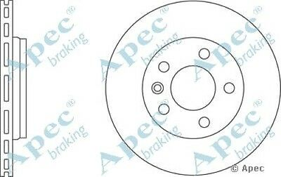 D/_G/_977 with Apec Pads Pair Drilled /& Grooved 5 Stud 294mm Vented Brake Discs