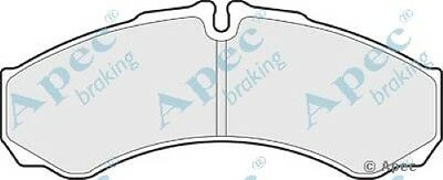 Apec Front Brake Pads Set OE Quality Replacement PAD1616