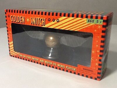 Wizarding World Of Harry Potter QUIDDITCH FullSize GOLDEN SNITCH Universal MOVES