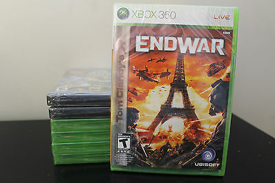 Tom Clancy's EndWar  (Xbox 360, 2008) *New/Factory Sealed
