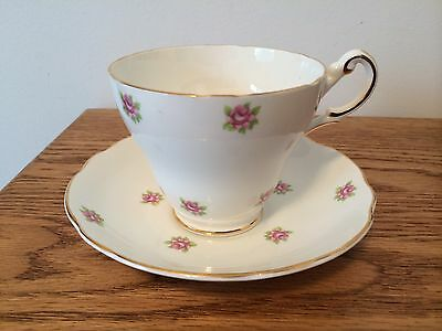 Regency Tea Cup and Saucer Bone China Made in England