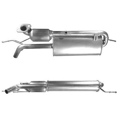 SMART FORTWO Catalytic Converter Exhaust 91590H 1.0 7/2007-