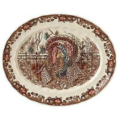 """Johnson Brothers His Majesty 15-1/2"""" Oval Platter NEW BOX"""