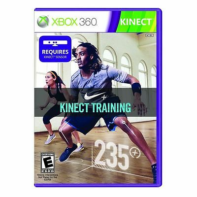 Nike+ Kinect Training Xbox 360 Fitness Video Game