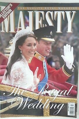 The Royal Wedding Majesty Magazine Vol 32 No 5  Collector's Edition William