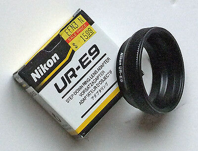 Nikon Coolpix 5400 Adapter Ring UR E9  for wide angle telephoto -  NEW IN BOX