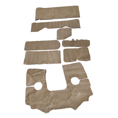 Bryant 200 Oem 8 Piece Syntec Tan Boat Snap In Carpet / Carpeting Set 002700