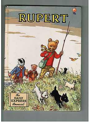 RUPERT ANNUAL 1955 nice original book