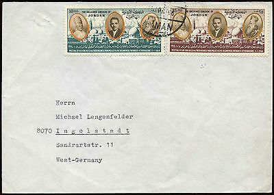 Jordan 1966 Cover To Germany #C18515
