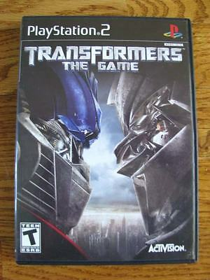 PLAYSTATION 2 TRANSFORMERS THE GAME BUMBLEBEE OPTIMUS