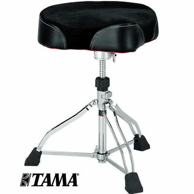 Tama HT530BC Wide Rider Cloth Top Professional Drum Stool Throne Chair