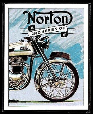 NORTON 2 ° - Cartoline Da Collezione Dominator Commando Atlas