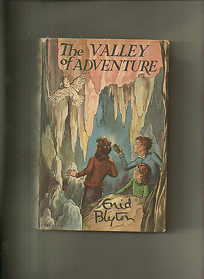 The Valley of Adventure by Enid Blyton (1955) - Fine in Fine d/w.