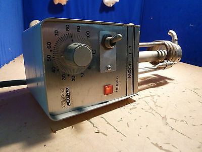 Mgw Lauda Model T-1 Water Bath Heater Unit Powers On Gets Hot