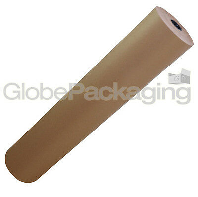 600mm x 50M STRONG BROWN KRAFT WRAPPING PAPER 88gsm