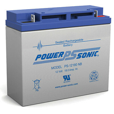 Power-Sonic 12V 18AH JUMPER PACK BOOSTER BOX BATTERY REPLACEMENT