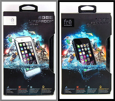 "OEM LifeProof Fre Waterproof Case for iPhone 6 4.7"" Black, White/Gray in Retail"