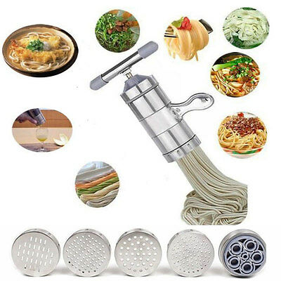 Stainless Steel Kitchen Pasta Noodle Maker Fruit Press Spaghetti Machine Juicer